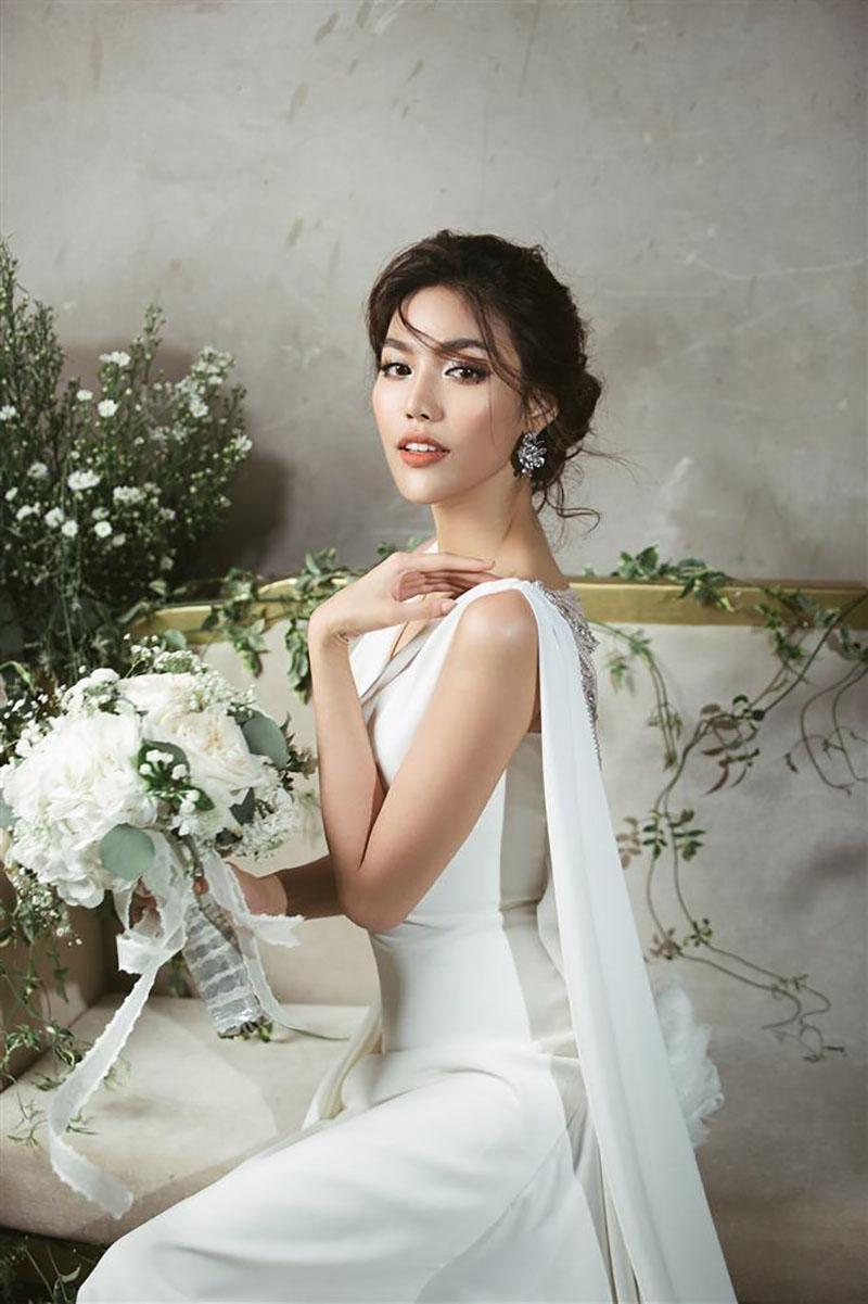 Kiểu tóc cô dâu đẹp quyến rũ