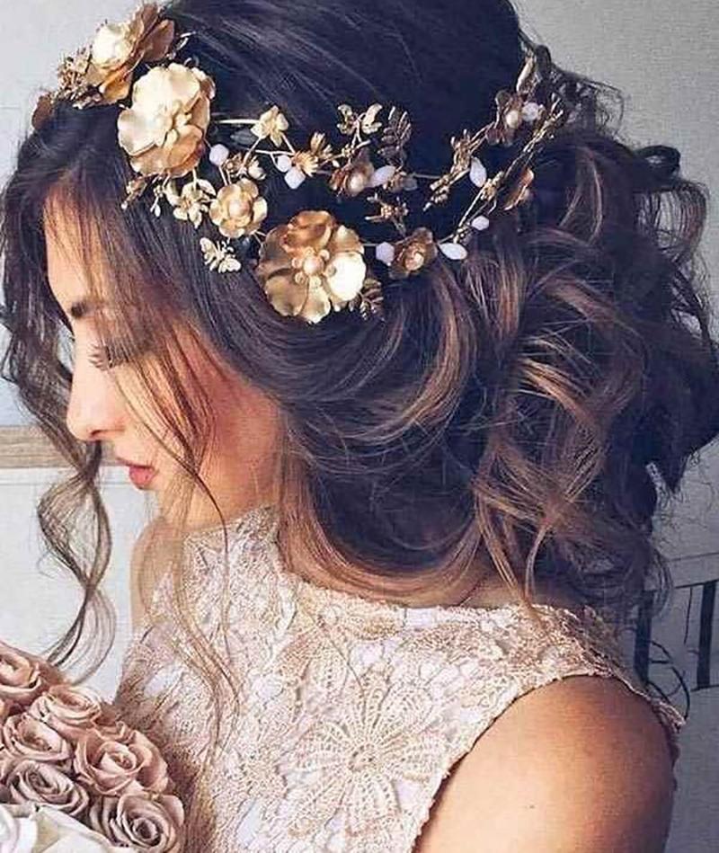 Kiểu tóc cô dâu đơn giản nhất