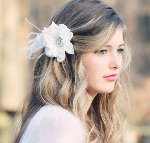 Kiểu tóc cô dâu tết đơn giản