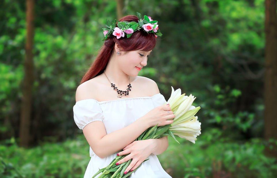 Kiểu tóc cô dâu theo phong cách hàn quốc đẹp nhất