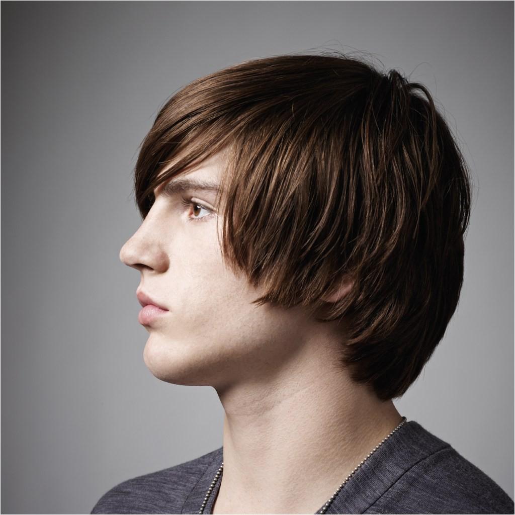 Kiểu tóc layer cho nam mặt tròn cực đẹp
