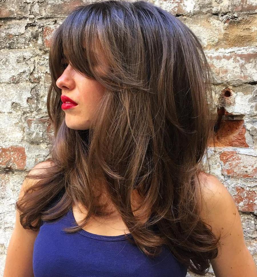 Kiểu tóc layer cho nữ uốn đẹp nhất