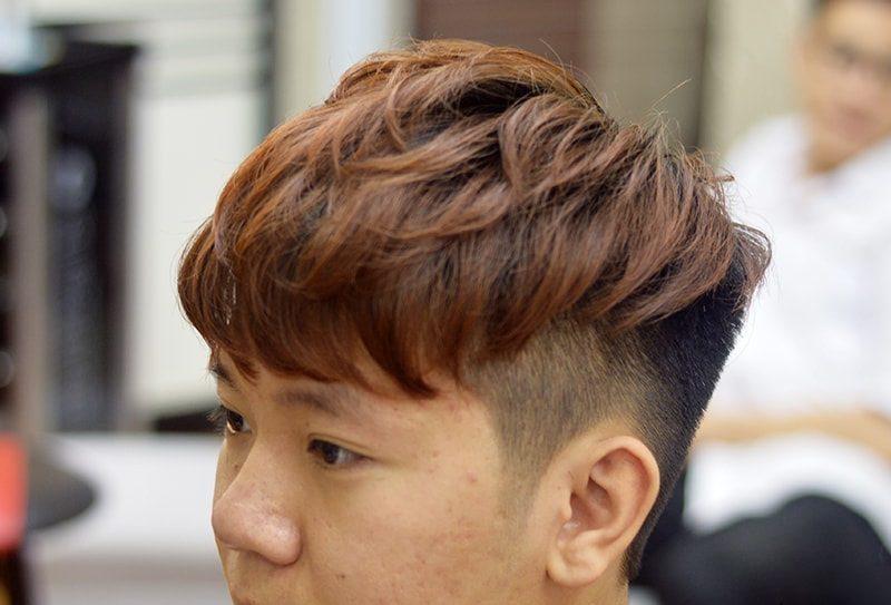Kiểu tóc layer nam mái ngố đẹp nhất