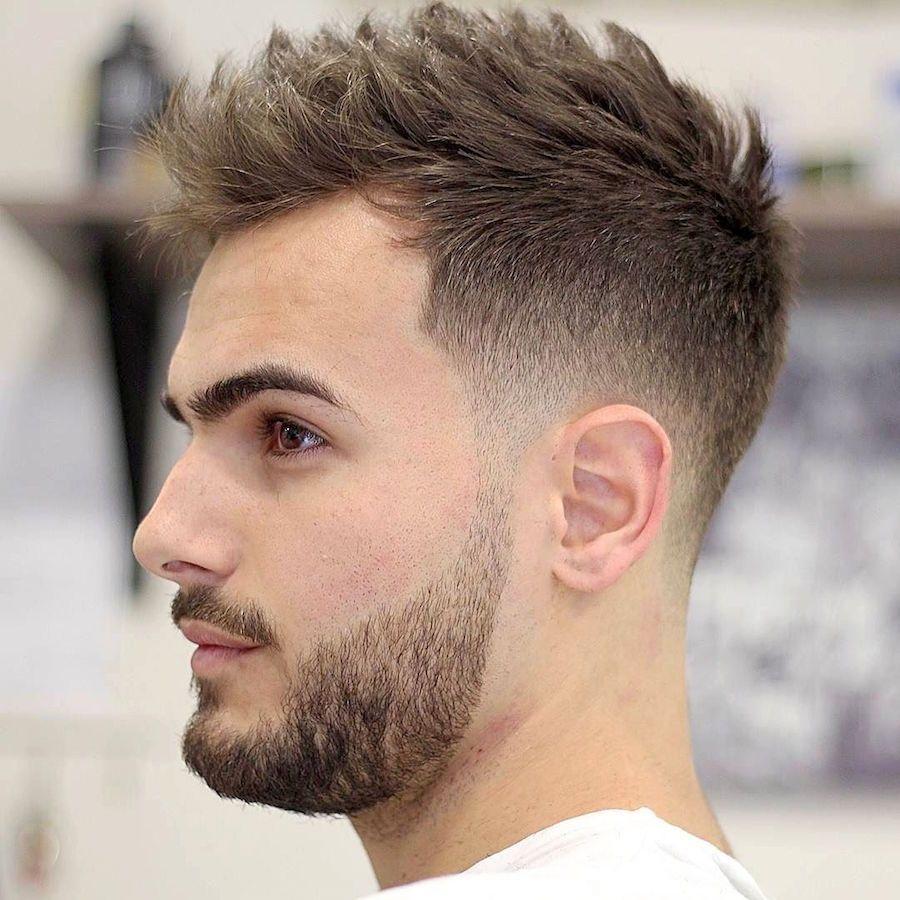 Kiểu tóc layer nam mặt vuông đẹp nhất