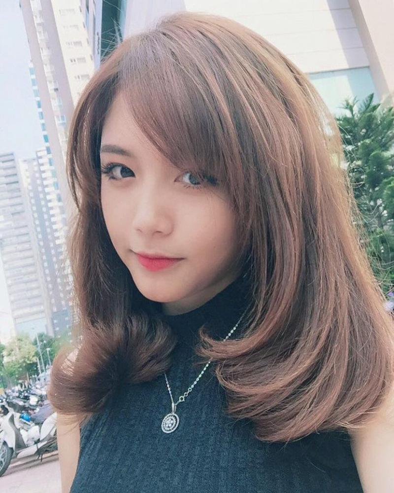 Kiểu tóc layer nữ cho cô nàng mặt vuông đẹp nhất