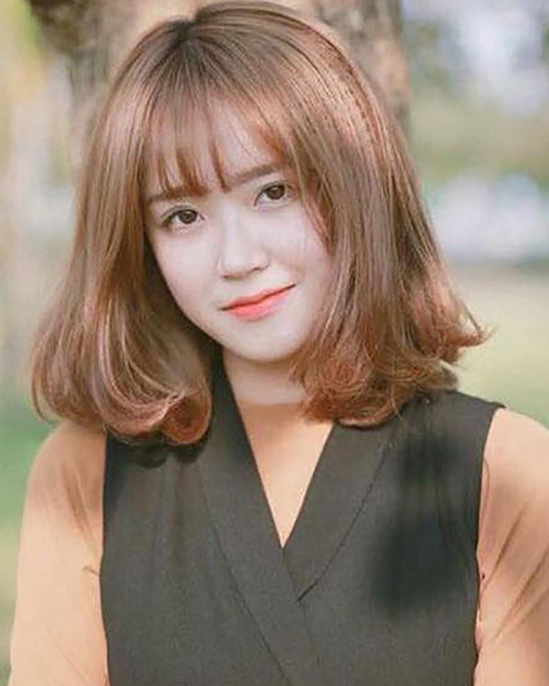 Kiểu tóc nữ ngắn xoăn đẹp