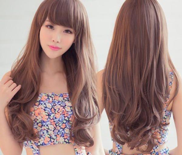 Kiểu tóc xoăn đuôi đẹp nhất