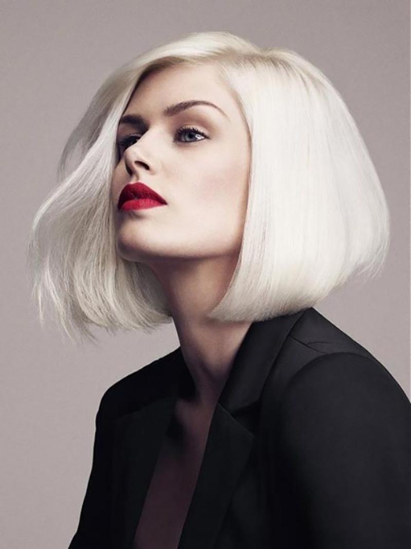 Mẫu tóc màu bạch kim đẹp và ấn tượng nhất