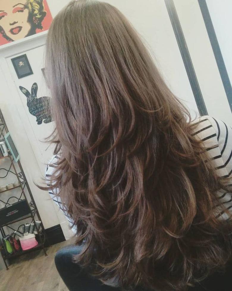 Những kiểu tóc layer cho nữ đẹp nhất