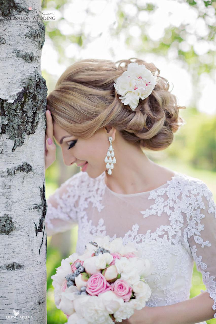 Tóc búi rối cho cô dâu đẹp nhất