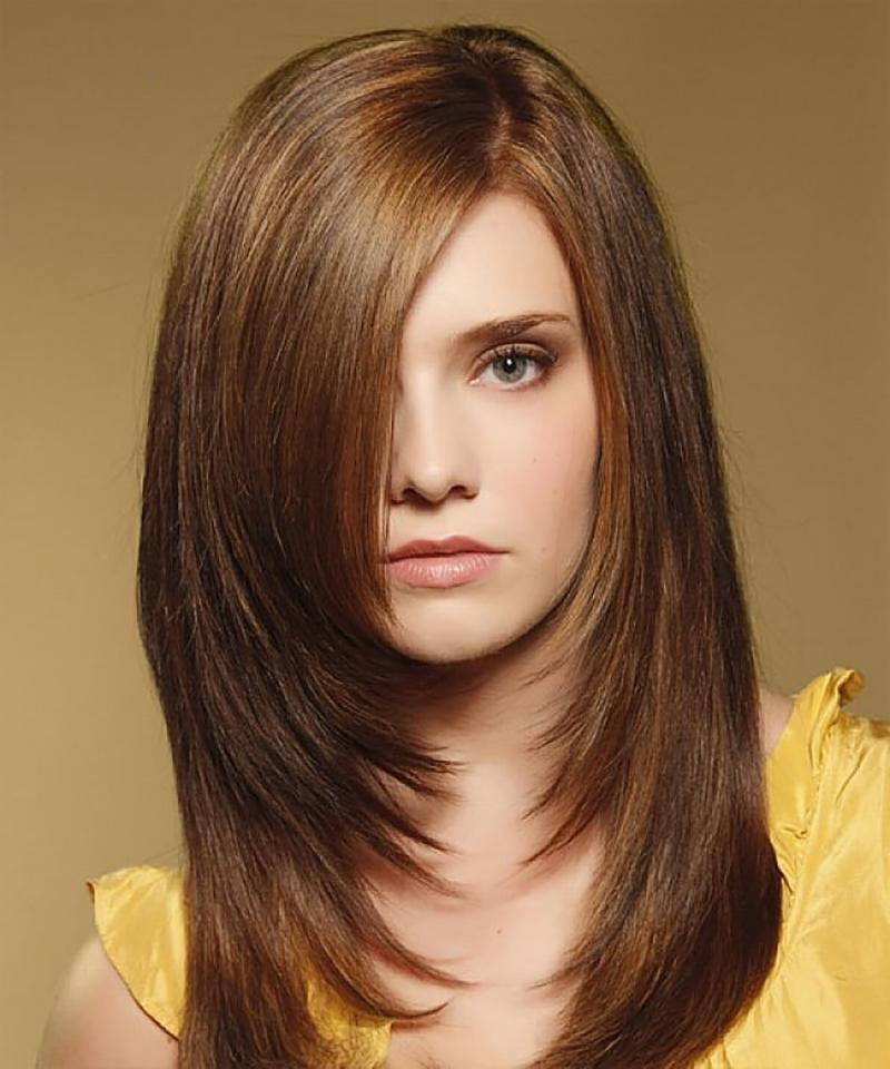 Tóc ngắn layer cho nữ
