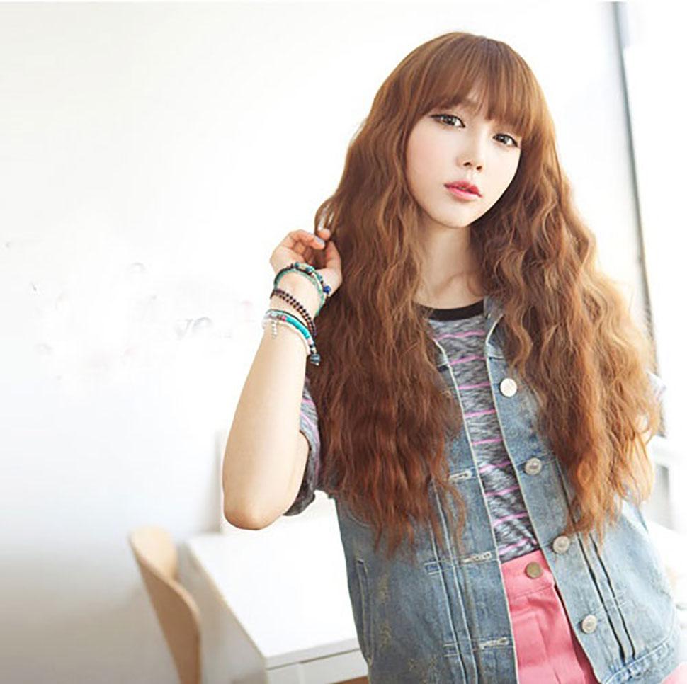 Kiểu tóc dài dập xù đẹp nhất