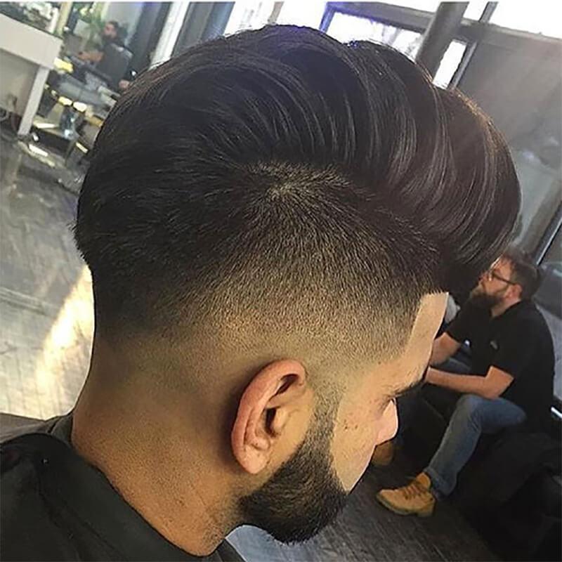 Kiểu tóc nam undercut 2 bên đẹp nhất