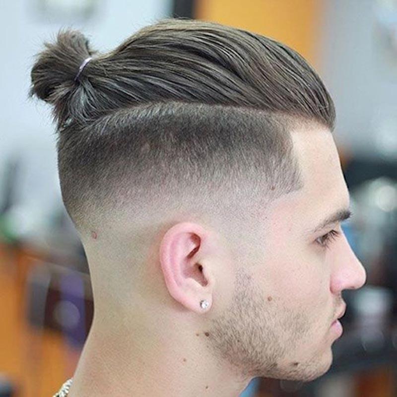 Kiểu tóc nam undercut búi đẹp nhất