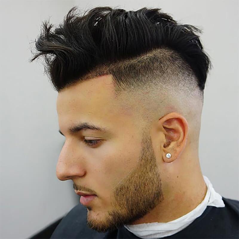 Kiểu tóc nam undercut hai mái