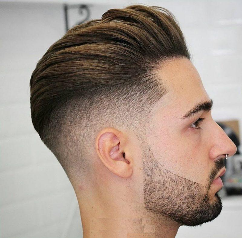 Kiểu tóc nam undercut uốn xoăn