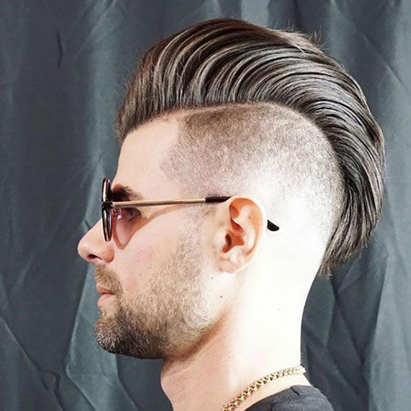 Kiểu tóc nam undercut vuốt ngược đẹp