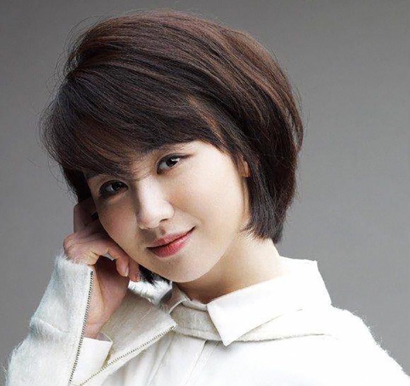 Kiểu tóc ngắn trẻ trung