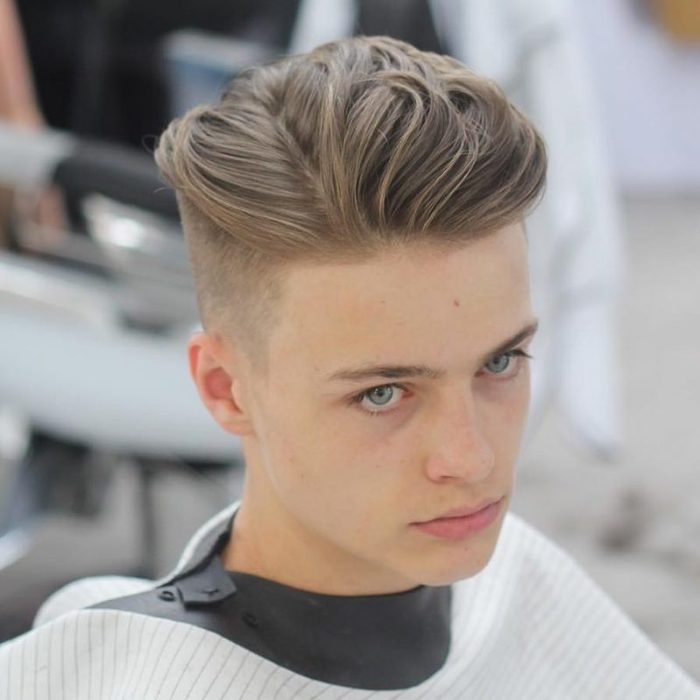 Kiểu tóc undercut nam cá tính