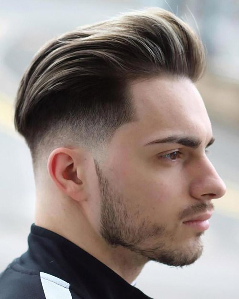 Kiểu tóc undercut nam trán cao đẹp nhất