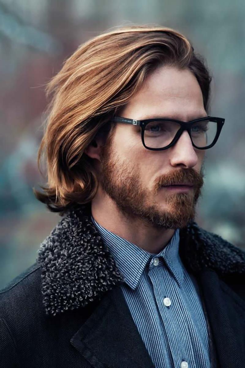 Mẫu tóc dài cho nam đẹp