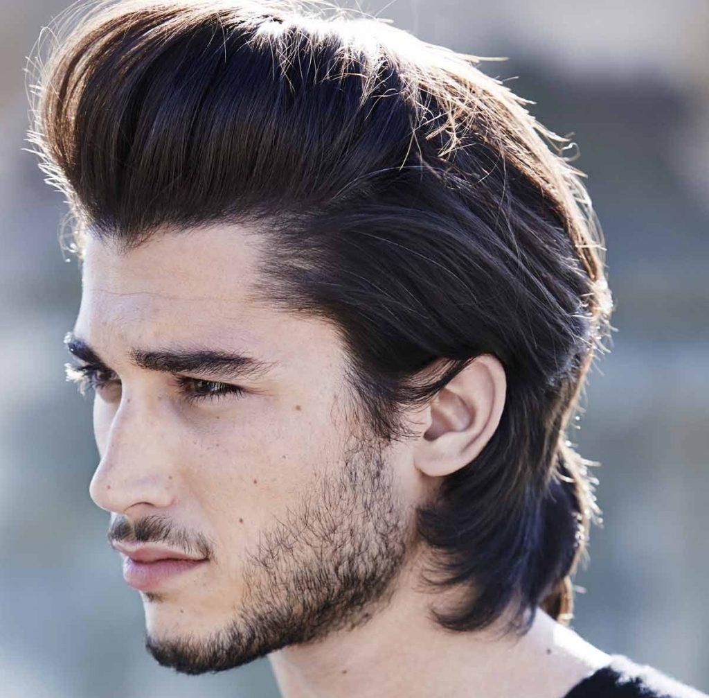 Mẫu tóc nam cho người râu quai nón