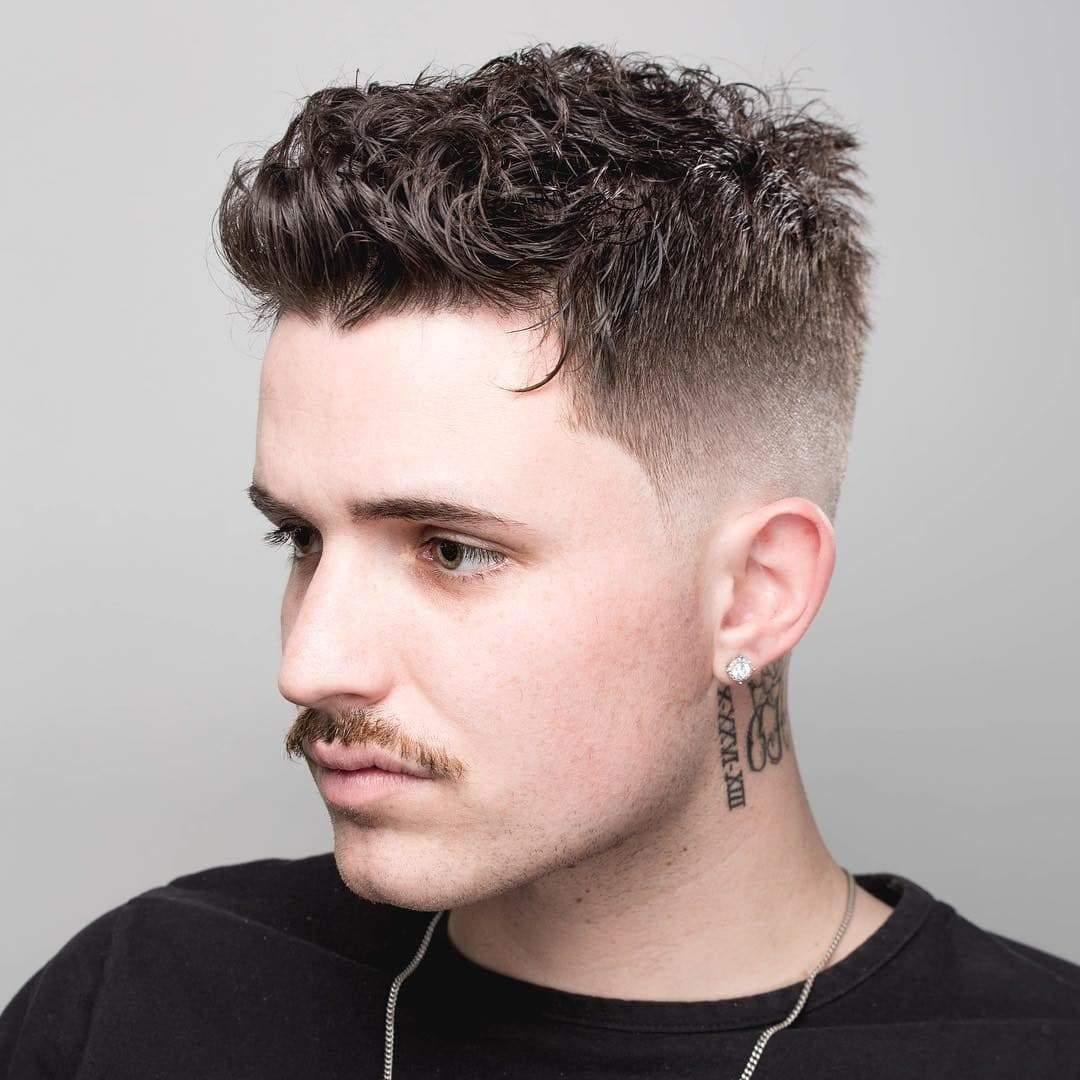 Mẫu tóc nam gọn gàng đẹp