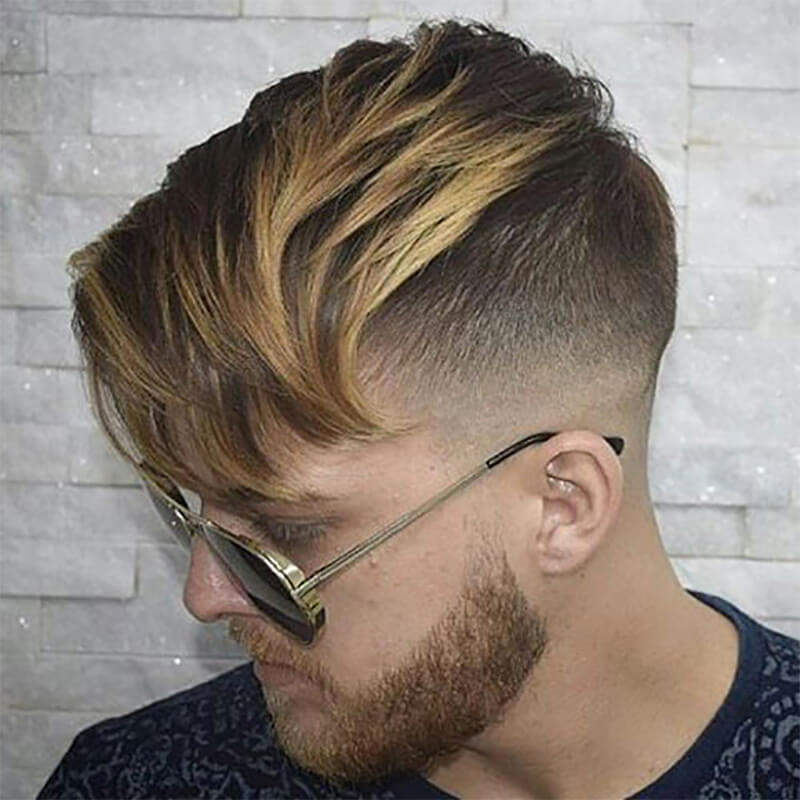 Mẫu tóc nam undercut đẹp