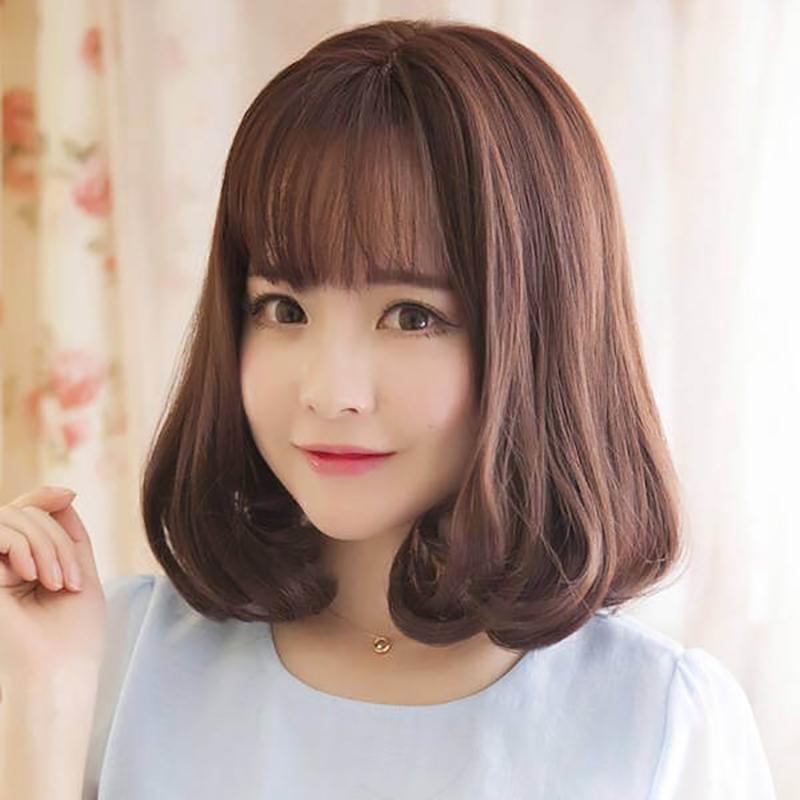 Kiểu tóc ngắn cho mặt dài trán cao đẹp nhất