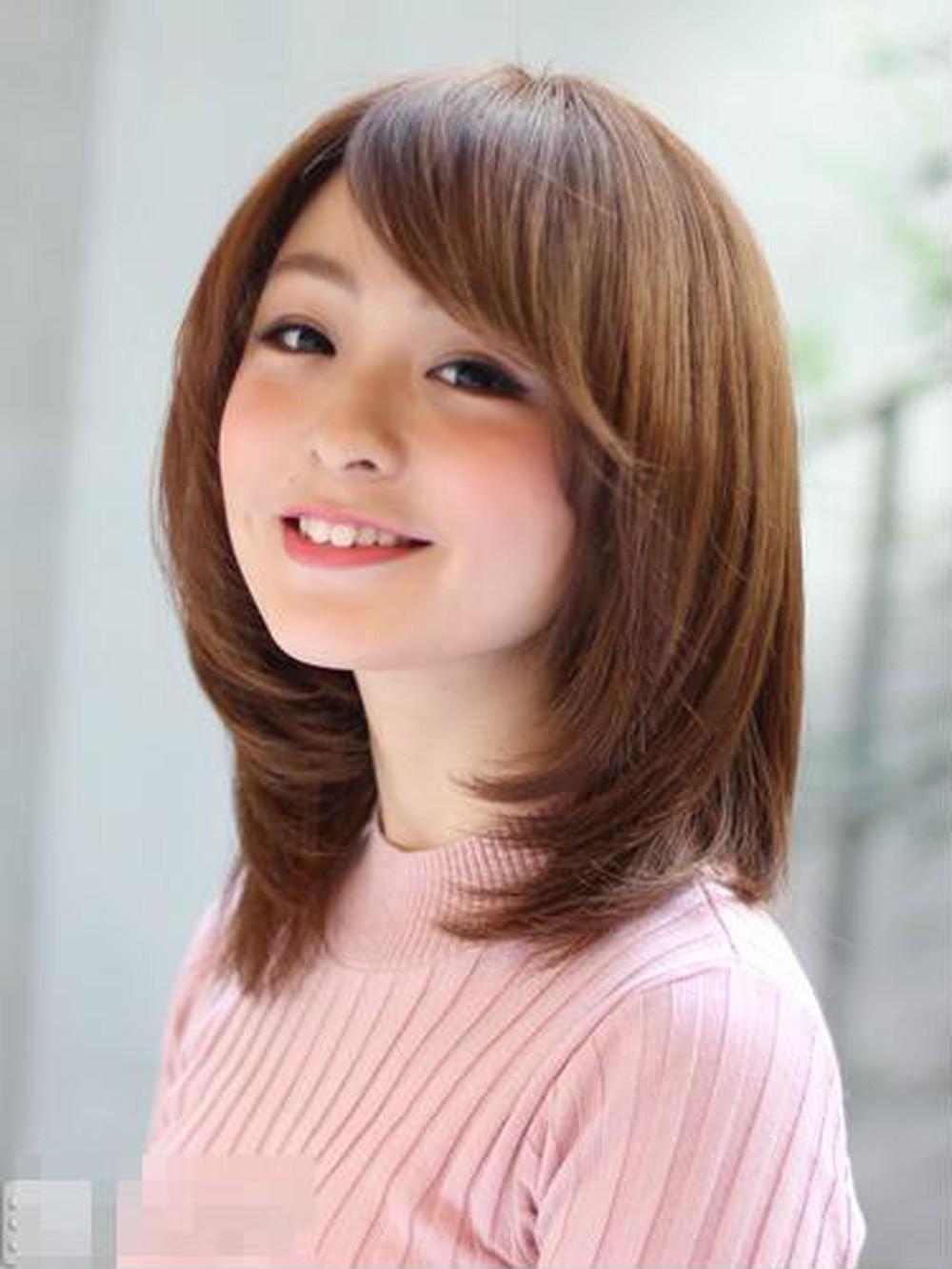 Kiểu tóc ngắn cho nữ mặt dài