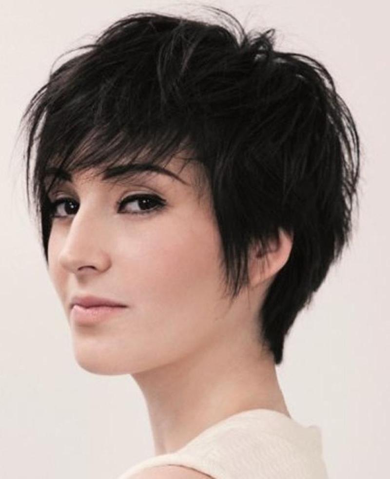 Kiểu tóc ngắn phồn phù hợp với mặt dài cực đẹp