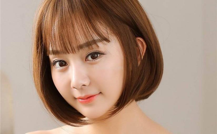 Kiểu tóc ngắn phù hợp với mặt dài gầy