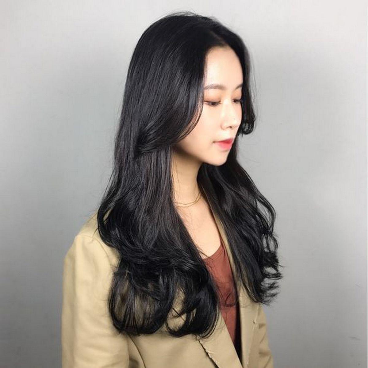 Kiểu tóc xoăn uốn gợn sóng bồng bềnh đẹp nhất