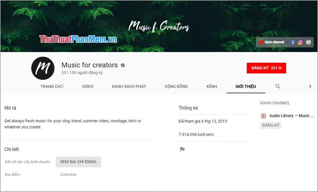 Music for creators
