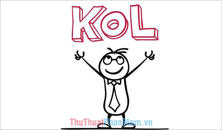 KOL được chia thành 3 nhóm