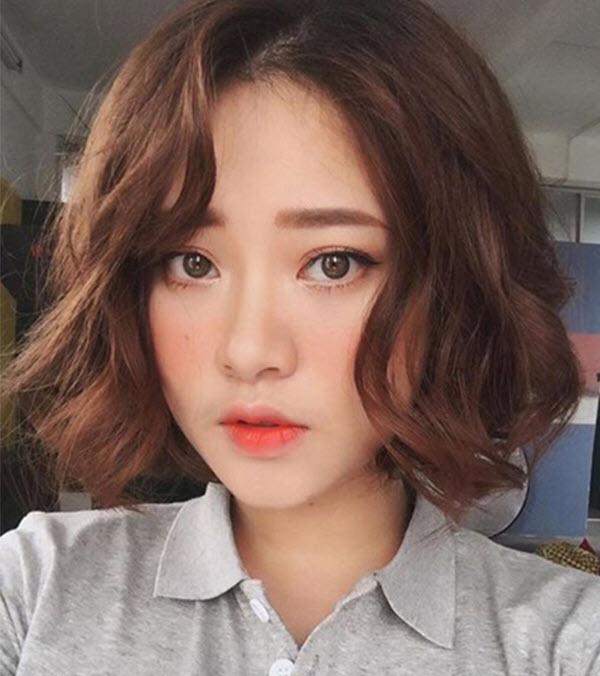 Các kiểu tóc ngắn nữ Hàn Quốc