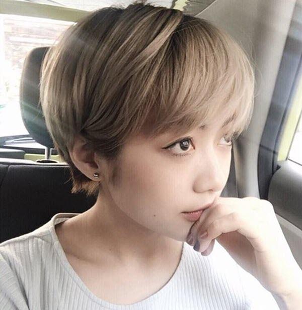 Các kiểu tóc tém cho nữ