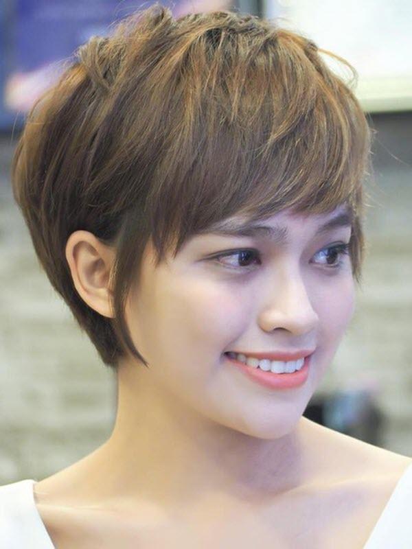 Các kiểu tóc tém đẹp cho nữ