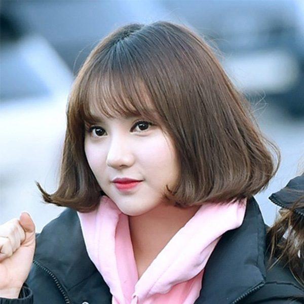 Kiểu tóc ngắn Hàn Quốc đáng yêu