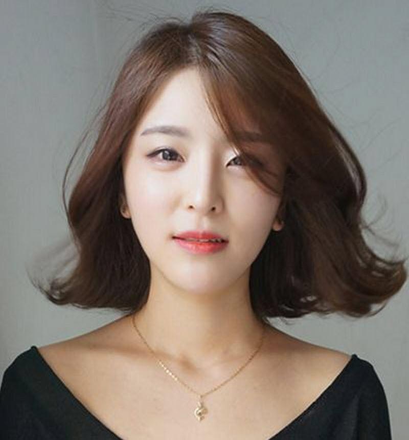 Kiểu tóc ngắn xoăn Hàn Quốc đẹp