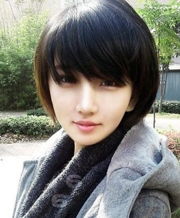Mẫu tóc tém nữ
