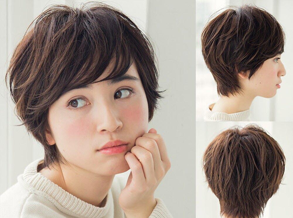 Những kiểu tóc tém nữ đẹp