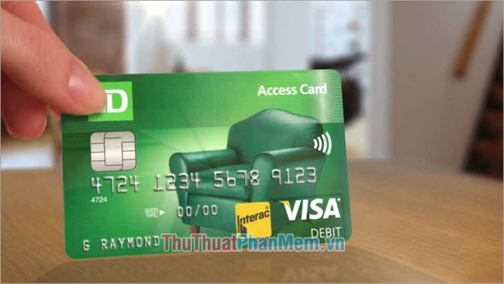Phân loại thẻ ghi nợ