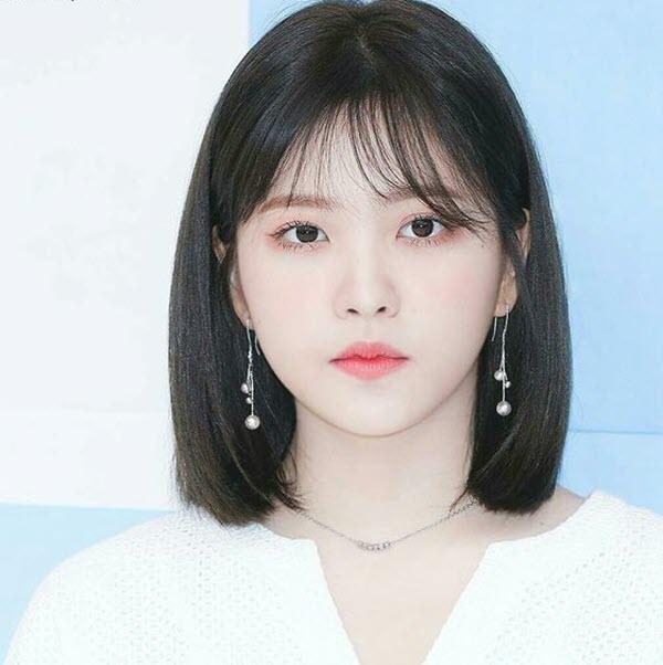 Tóc ngắn cá tính Hàn Quốc