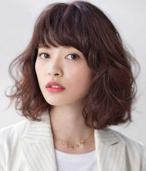 Tóc ngắn Hàn Quốc đẹp
