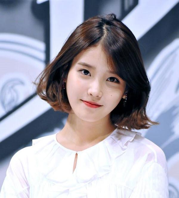 Tóc ngắn uốn xoăn Hàn Quốc