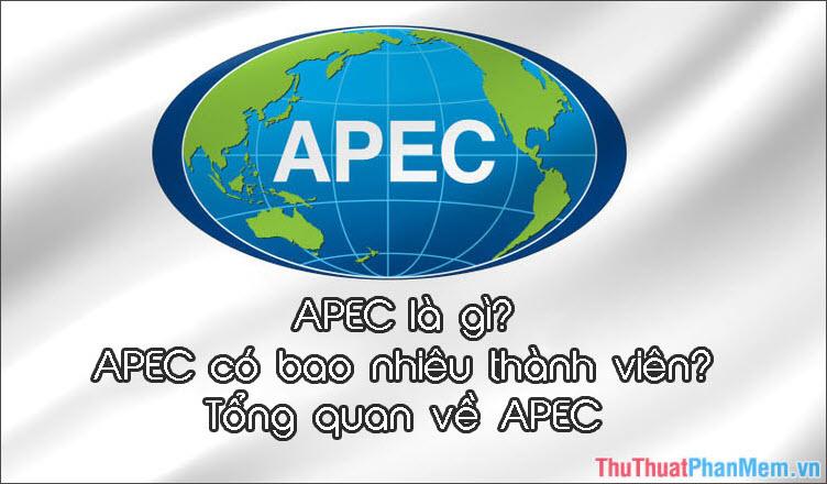 APEC là gì? APEC có bao nhiêu thành viên? Tổng quan về APEC