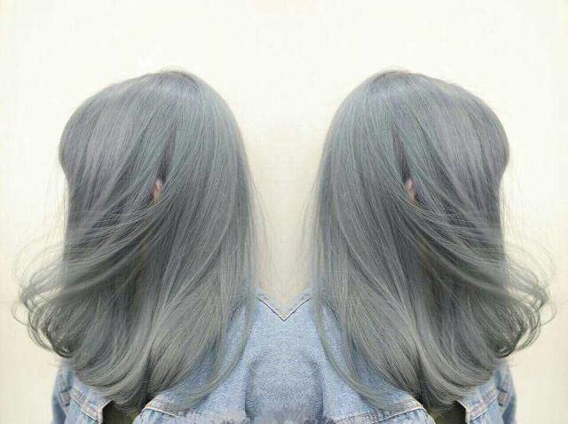 Màu tóc ánh khói đẹp