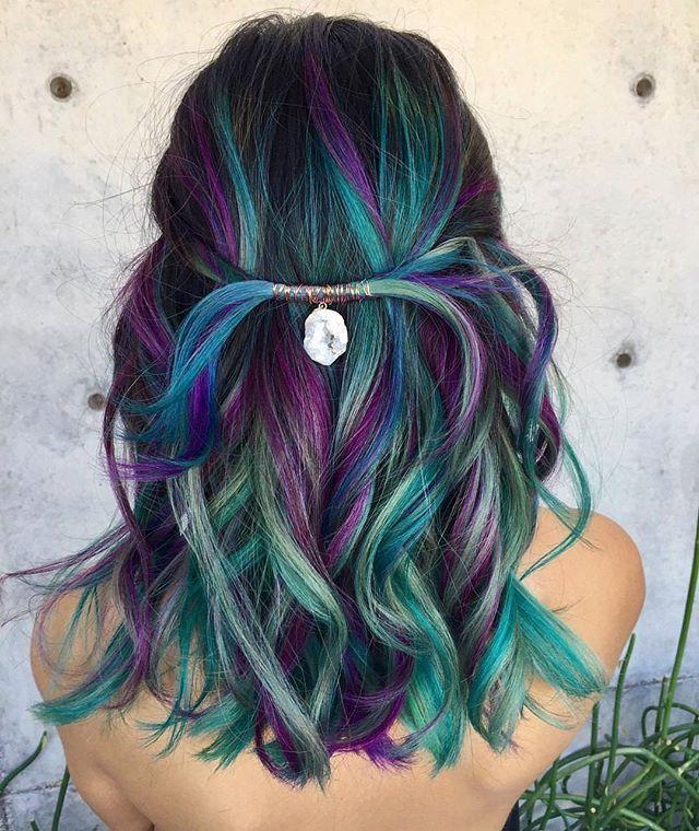 Màu tóc đẹp, độc đáo nhất