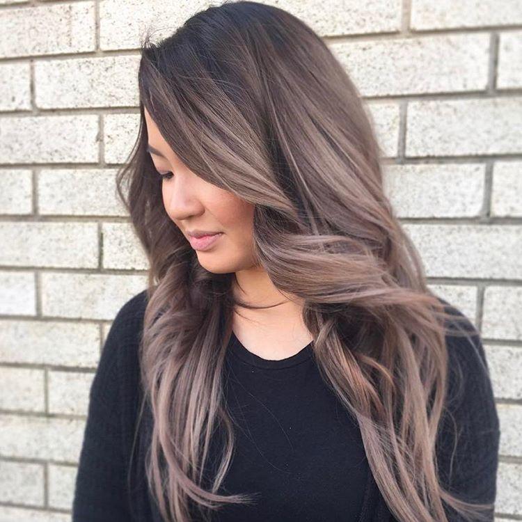 Màu tóc đẹp nhẹ nhàng